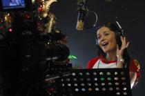 Jollibee Donna Cruz recording press pic