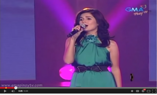 "Donna Cruz sings ""Rain"" at  Party Pilipinas"