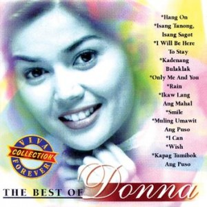 the best of donna album cover