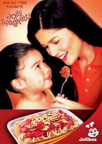 Donna Cruz and Belle for Jollibee