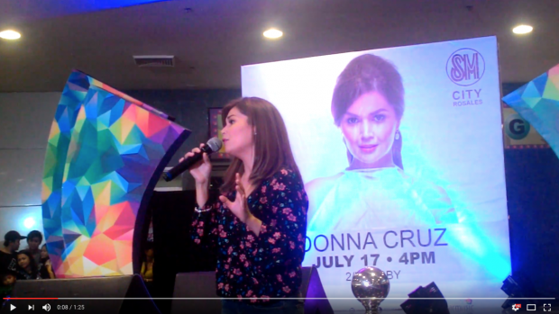Donna Cruz SM City Rosales  2016-07-31 at 9.32.34 PM