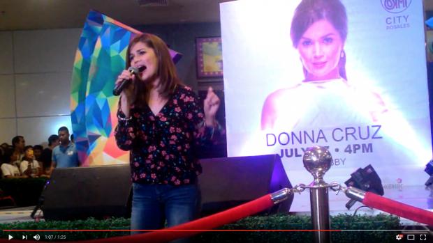Donna Cruz SM City Rosales 2016-07-31 at 9.33.49 PM