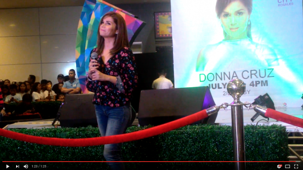 Donna Cruz SM City Rosales 2016-07-31 at 9.34.07 PM